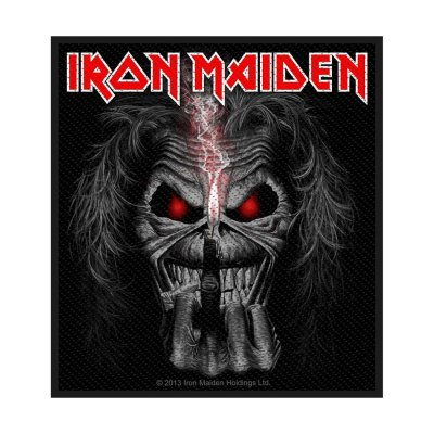 Iron Maiden Eddie Candle Finger Standard Patch offiziell...
