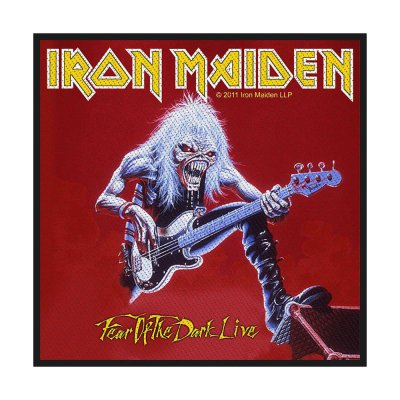 Iron Maiden Fear Of The Dark Live Standard Patch...