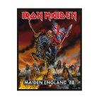 Iron Maiden Maiden England Standard Patch offiziell lizensierte Ware