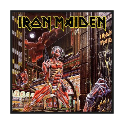 Iron Maiden Somewhere in Time Standard Patch offiziell...