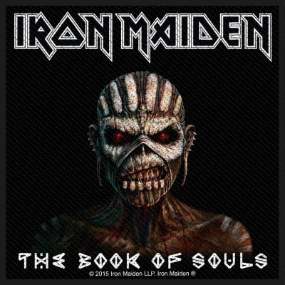 Iron Maiden The Book Of Souls Standard Patch offiziell...