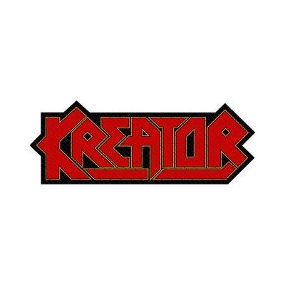 Kreator Logo Cut-Out Standard Patch offiziell lizensierte...