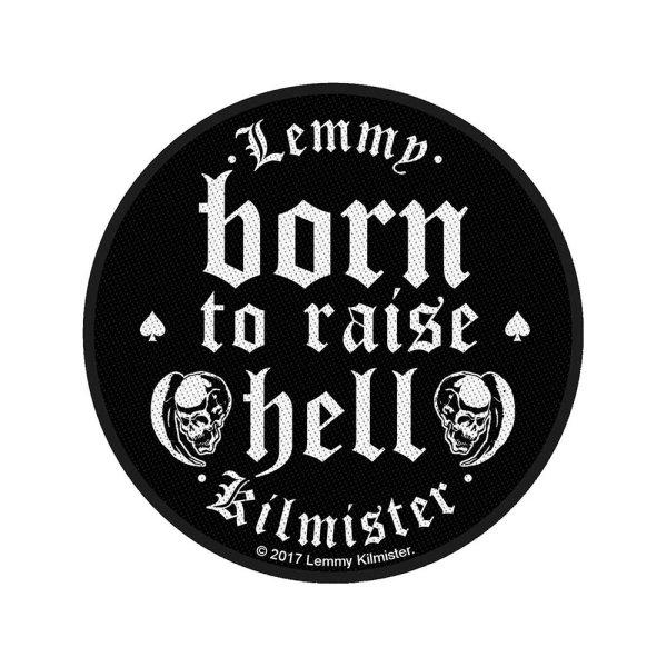 Lemmy Born To Raise Hell Standard Patch offiziell lizensierte Ware