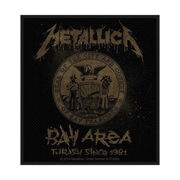 Metallica Bay Area Thrash Standard Patch offiziell lizensierte Ware