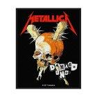 Metallica Damage Inc. Standard Patch offiziell lizensierte Ware
