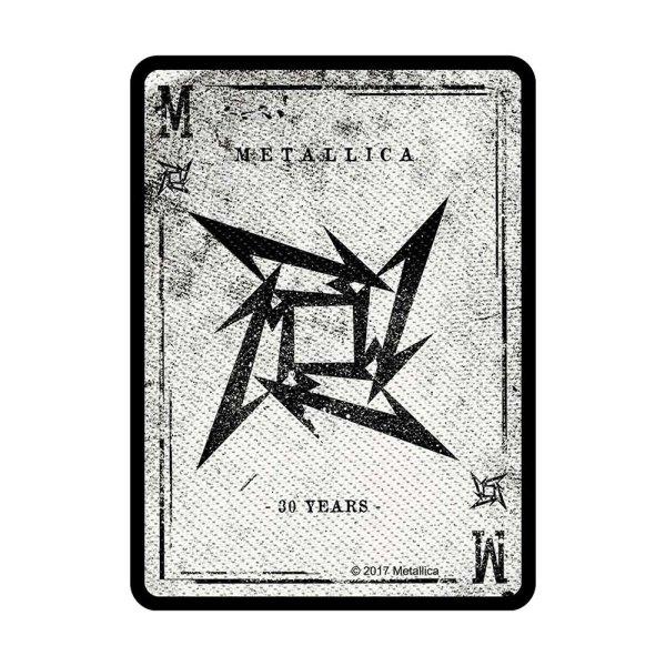 Metallica Dealer Standard Patch offiziell lizensierte Ware