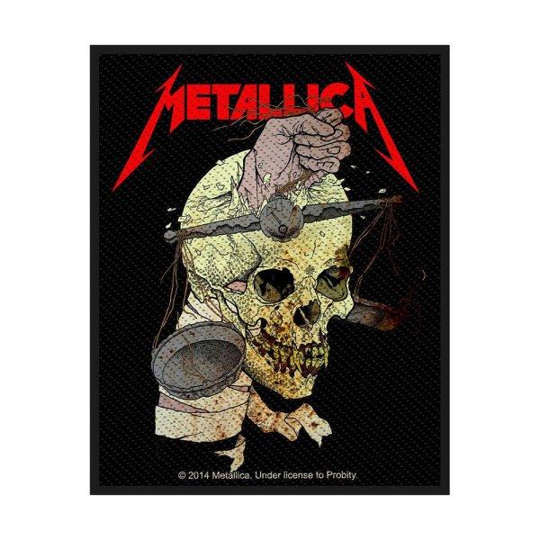 Metallica Harvester Of Sorrow Standard Patch offiziell lizensierte Ware