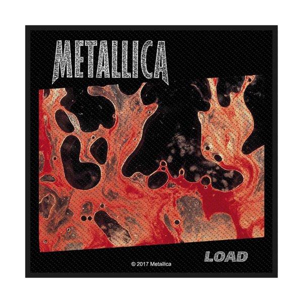Metallica Logo Standard Patch offiziell lizensierte Ware