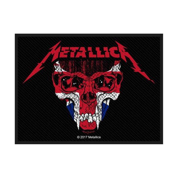 Metallica Metallica UK Standard Patch offiziell lizensierte Ware