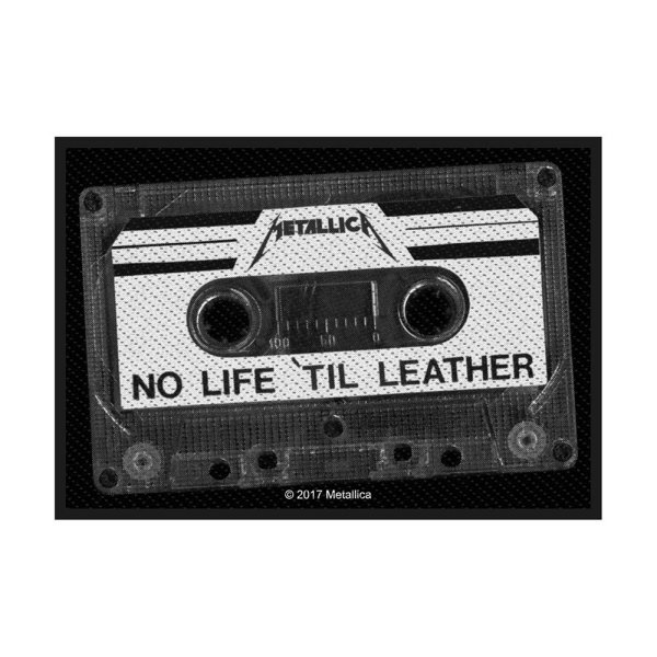 Metallica No Life Til Leather Standard Patch offiziell lizensierte Ware