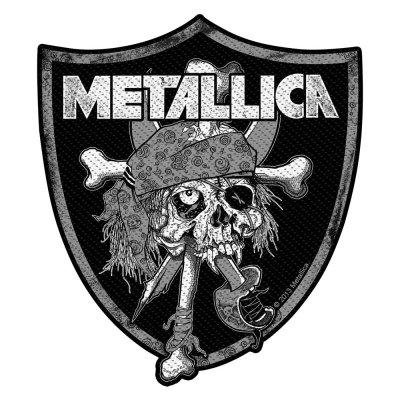 Metallica Raiders Skull Standard Patch offiziell...
