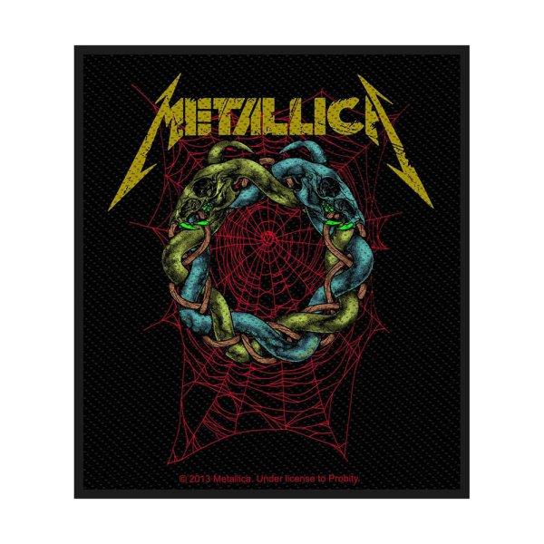 Metallica Tangled Web Standard Patch offiziell lizensierte Ware