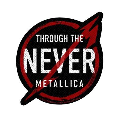 Metallica Through The Never Standard Patch offiziell...