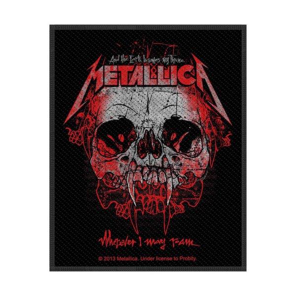 Metallica Wherever I May Roam Standard Patch offiziell lizensierte Ware
