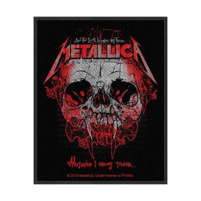 Metallica Wherever I May Roam Standard Patch offiziell...