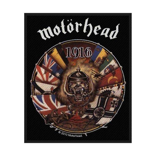 Motörhead 1916 Standard Patch offiziell lizensierte Ware