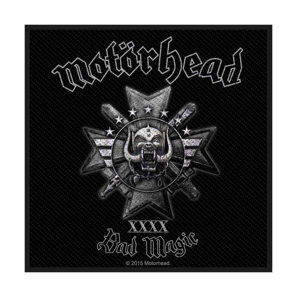 Motörhead Bad Magic Standard Patch offiziell lizensierte Ware