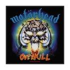 Motörhead Overkill Standard Patch offiziell lizensierte Ware