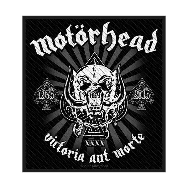 Motörhead Victoria Aut Morte Standard Patch offiziell lizensierte Ware