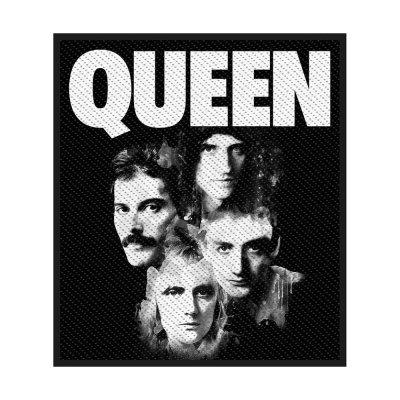 Queen Faces Standard Patch offiziell lizensierte Ware