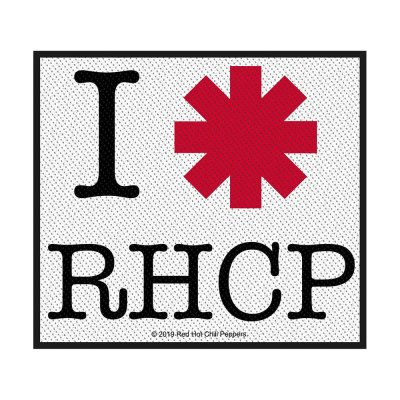 Red Hot Chili Peppers I Love RHCP Standard Patch...