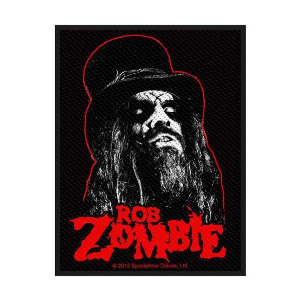 Rob Zombie Portrait Standard Patch offiziell lizensierte Ware