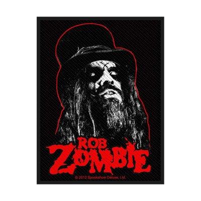 Rob Zombie Portrait Standard Patch offiziell lizensierte...