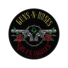 Guns n Roses Los F N Angeles Standard Patch offiziell lizensierte Ware