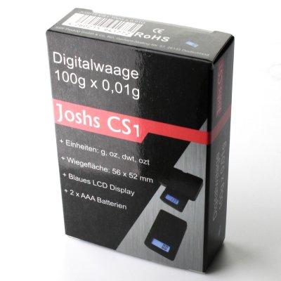 Joshs CS 1 Digitalwaage bis 100 gr und 0,01 gr genau