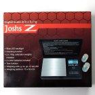 Joshs Z Feinwaage 200 g 0,01g 2 x AAA Baterien inklusiv +Eichgewichte