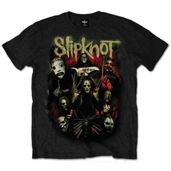 Slipknot T-Shirt Come Play Dying Schwarz