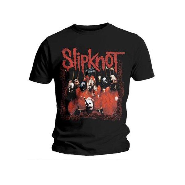 Slipknot T-Shirt Band Frame Schwarz