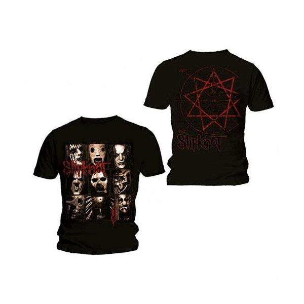 Slipknot T-Shirt Mezzotint Decay Schwarz