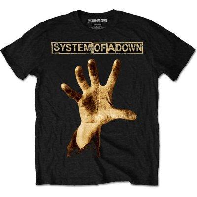 System of a Down T-Shirt Hand Schwarz