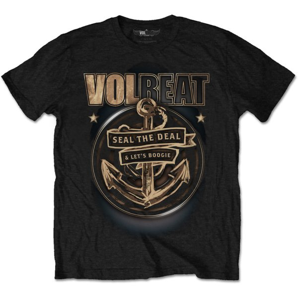 Volbeat T-Shirt Anchor Schwarz