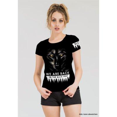 Blck Frst Wolf Girly Shirt