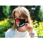 Blck Frst Mund Nasen Maske Bommelschädel