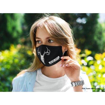 Blck Frst Mund Nasen Maske Schwrz Wld