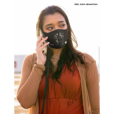 Blck Frst Mund Nasen Maske Wolf