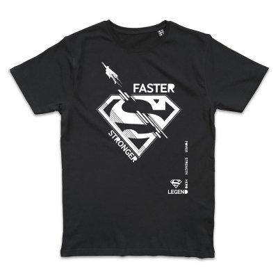 Superman Faster Stronger T-Shirt