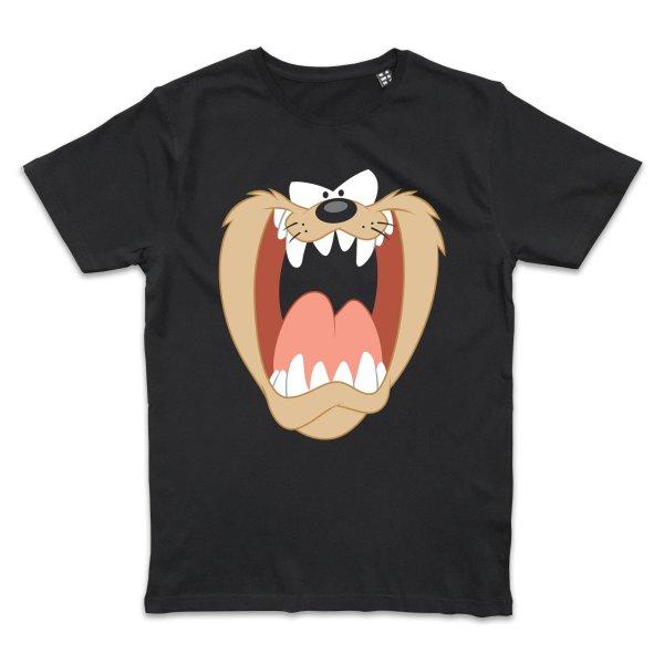 Looney Tunes Taz Gesicht T-Shirt