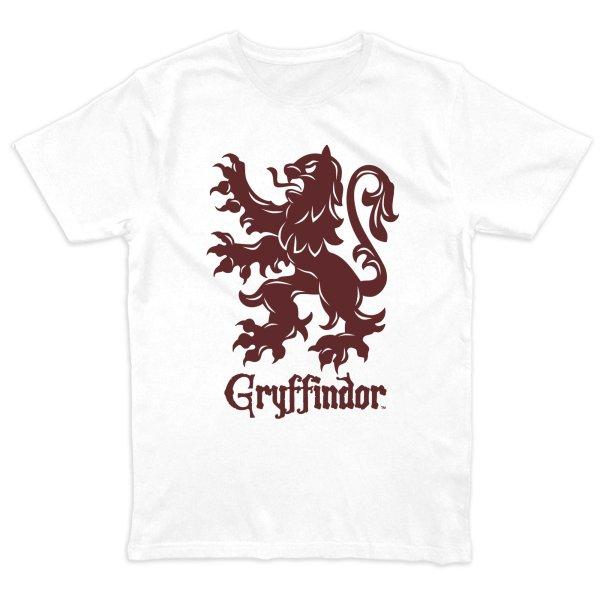 Harry Potter Griffindor Crest T-Shirt Weiss