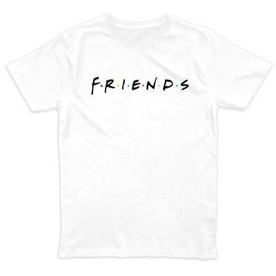 Friends Classic Logo T-Shirt Weiss