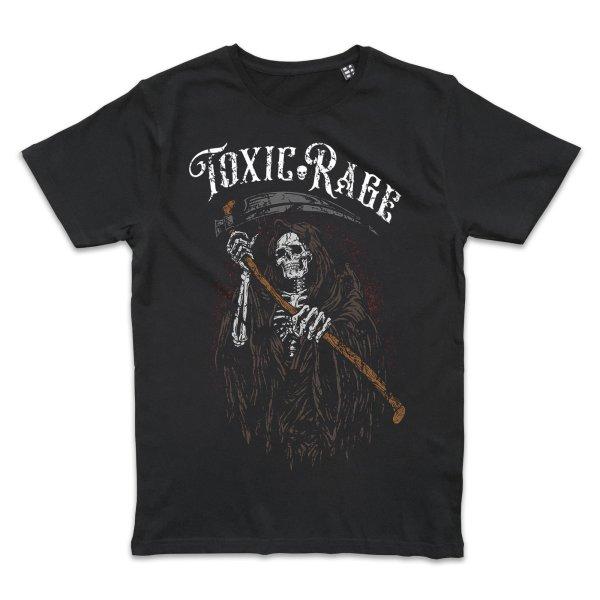 Metal Tattoo Toxic Rage Reaper T-Shirt