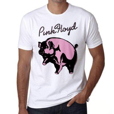 Pink Floyd Bettersea Pig T-Shirt Weiß