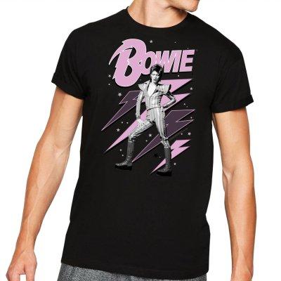 David Bowie Pink Bolts T-Shirt