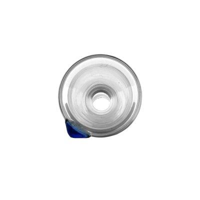 Glas Köpfchen 14,5er XL Trichterkopf, Konisch, Durchlass ca. 6 mm