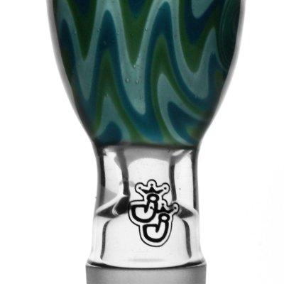 Green Swirl Köpfchen 18,8er von Jelly Joker