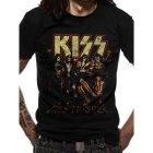 Kiss Skull Line Up T-Shirt