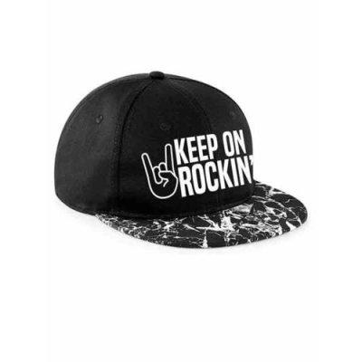 Keep on Rockin Snapback Cappy